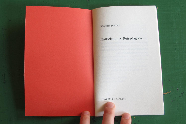 Nattleksjon/Reisedagbok