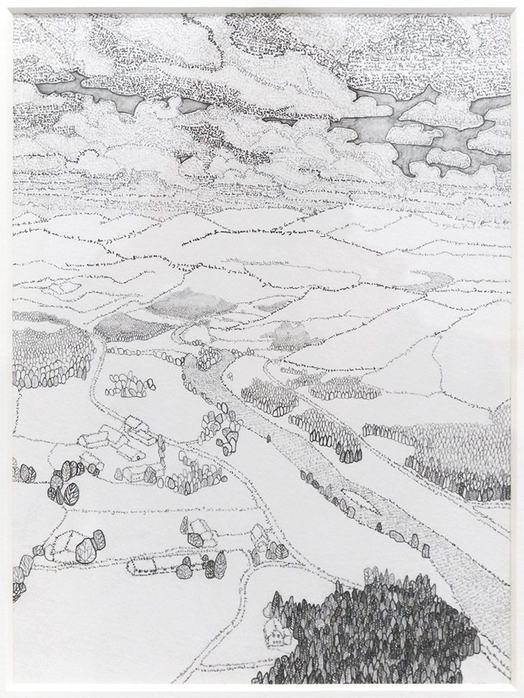 Norsk landskap under gammeltestamentlig himmel