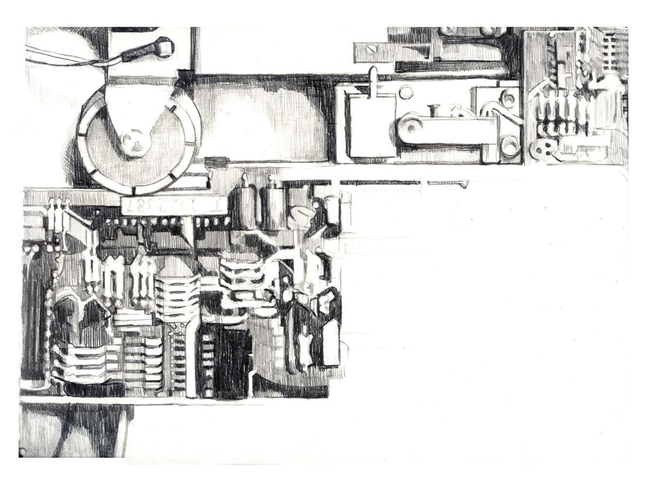 Drawing automaton