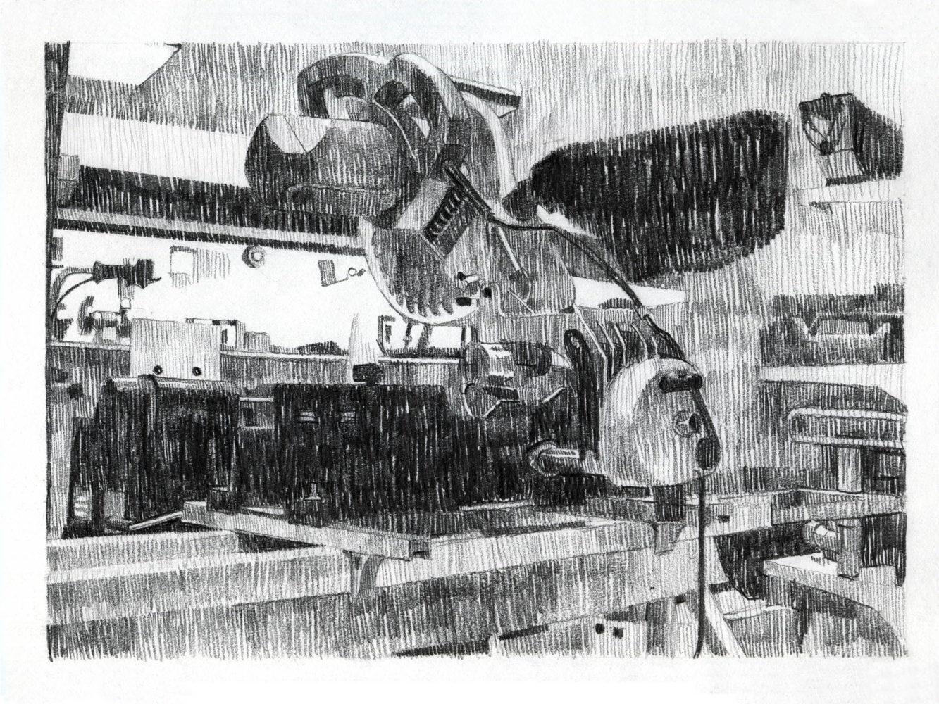 Drawing automaton.